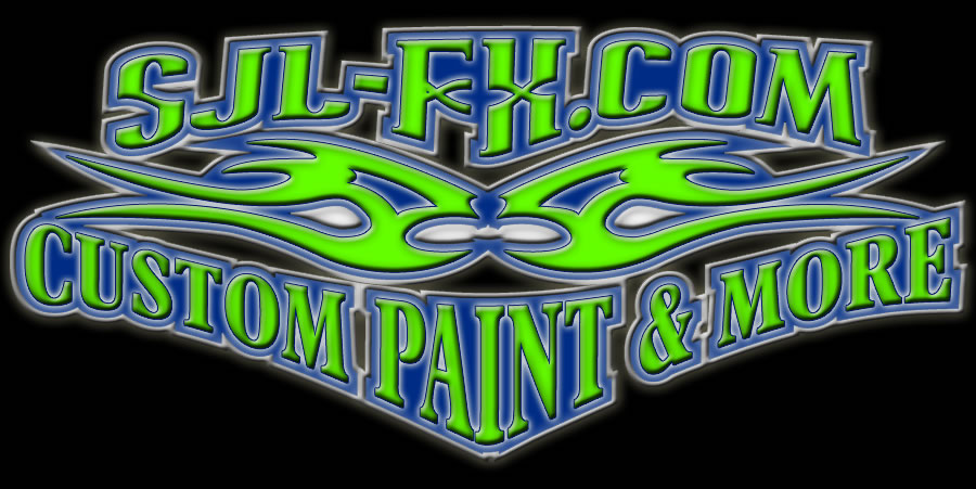 logo for SJLFX.com Custom Paint and More