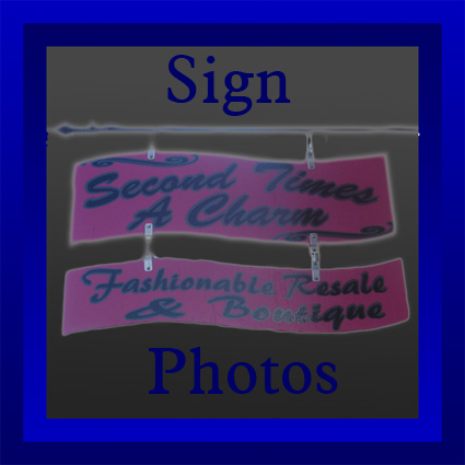 button for sign photos